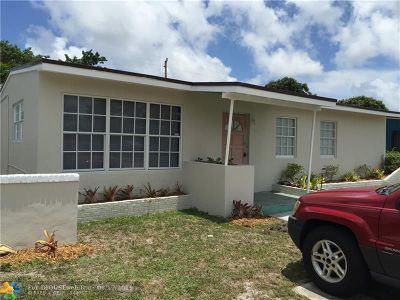 Fort Lauderdale Single Family Home For Sale: 1162 NW 9th Ter