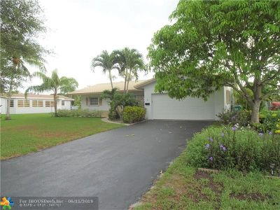 Coral Springs Single Family Home For Sale: 10030 NW 37th St