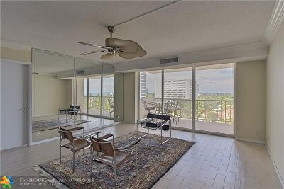 Fort Lauderdale Condo/Townhouse For Sale: 2701 N Ocean Blvd #6A