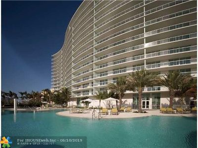 Pompano Beach Condo/Townhouse For Sale: 1 N Ocean Blvd #713