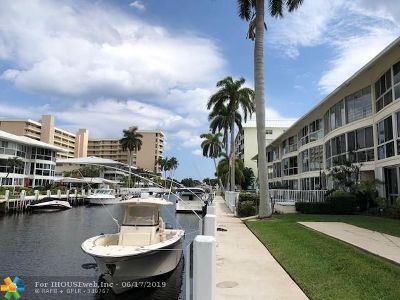 Fort Lauderdale Condo/Townhouse For Sale: 3051 NE 47th Ct #205