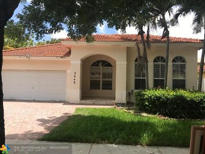 Miramar Single Family Home For Sale: 2648 SW 137th Ave