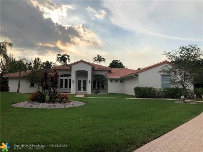 Davie Single Family Home For Sale: 13491 SW 29th Ct