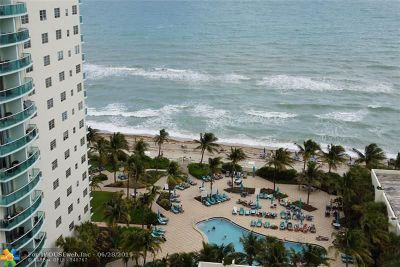 Hollywood Condo/Townhouse For Sale: 3801 S Ocean Dr #PH-O
