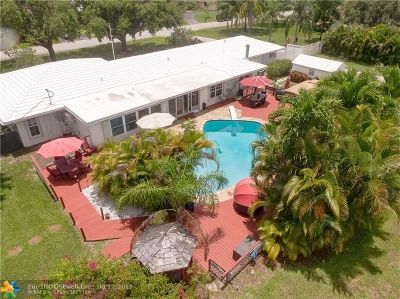 Coconut Creek Single Family Home For Sale: 4575 Glenwood Dr