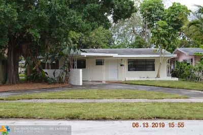 Fort Lauderdale Single Family Home For Sale: 1100 NE 17th Ct