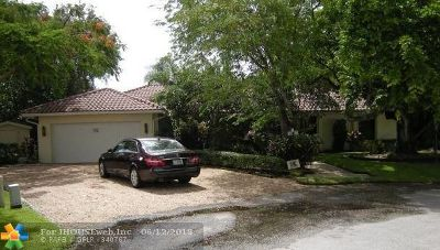 Hollywood Single Family Home Backup Contract-Call LA: 2811 Fairway Dr
