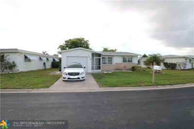 Margate Single Family Home For Sale: 1010 NW 73rd Ter