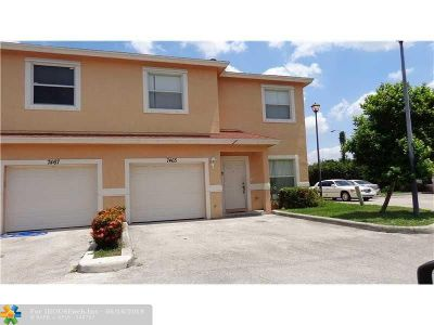 North Lauderdale Condo/Townhouse Backup Contract-Call LA: 7465 Tam Oshanter Blvd #7465