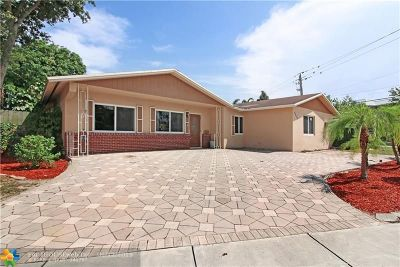Coconut Creek Single Family Home For Sale: 4430 NW 12th St
