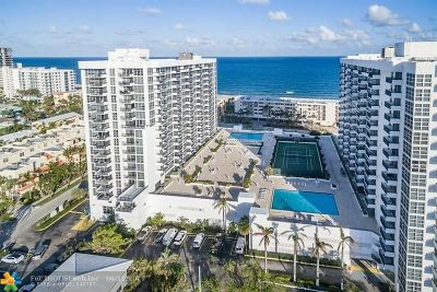 Pompano Beach Condo/Townhouse For Sale: 525 N Ocean Blvd #820