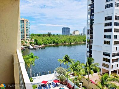 Fort Lauderdale Condo/Townhouse For Sale: 2670 E Sunrise Blvd #707