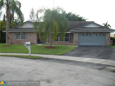 Margate Single Family Home For Sale: 7436 NW 22 St