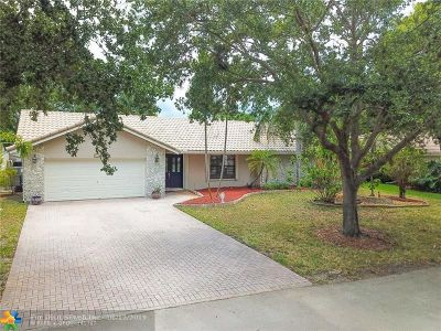 Plantation Single Family Home For Sale: 1030 NW 93rd Ave