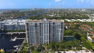 Fort Lauderdale Condo/Townhouse For Sale: 3200 Port Royale Dr #1411