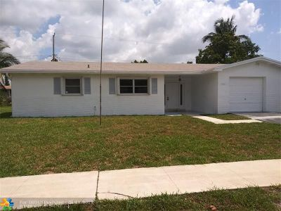 Sunrise Single Family Home For Sale: 5901 NW 12th St