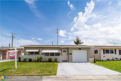 Margate Single Family Home For Sale: 6710 NW 9th St