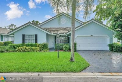 Coral Springs Single Family Home For Sale: 5495 Pine Cir