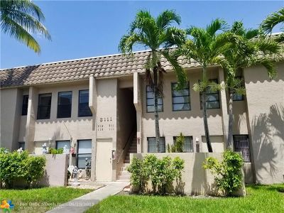 Coral Springs FL Condo/Townhouse For Sale: $199,000