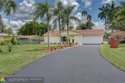 Coral Springs Single Family Home For Sale: 10360 NW 41st St