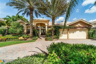 Davie Single Family Home For Sale: 2921 W Lake Vista Cir