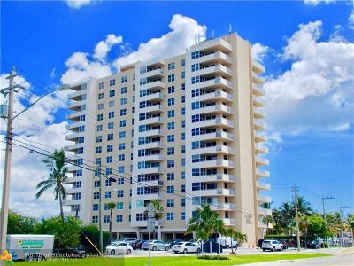 Pompano Beach Condo/Townhouse For Sale: 2639 N Riverside Dr #206