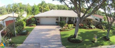 Coral Springs Single Family Home For Sale: 8578 NW 7th St