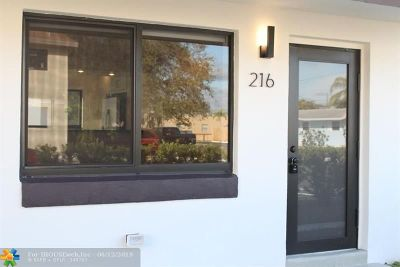 Wilton Manors Rental For Rent: 218 NW 25th St
