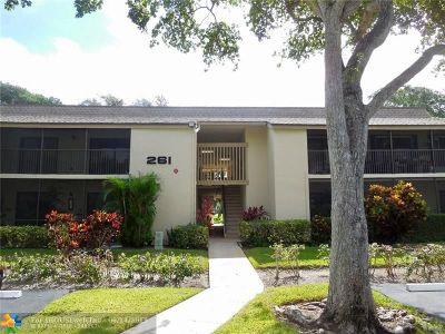 Deerfield Beach Condo/Townhouse For Sale: 261 Deer Creek Blvd #1204