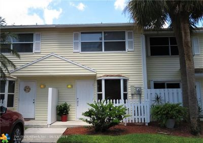 Pompano Beach Condo/Townhouse For Sale: 2503 NE 15th St #2503