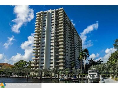 Fort Lauderdale Condo/Townhouse For Sale: 3200 Port Royale Dr #1110