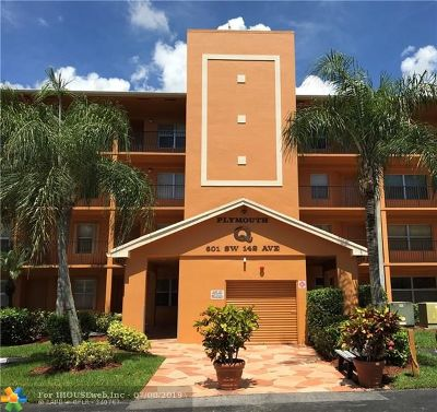 Pembroke Pines Condo/Townhouse For Sale: 601 SW 142nd Ave #108Q