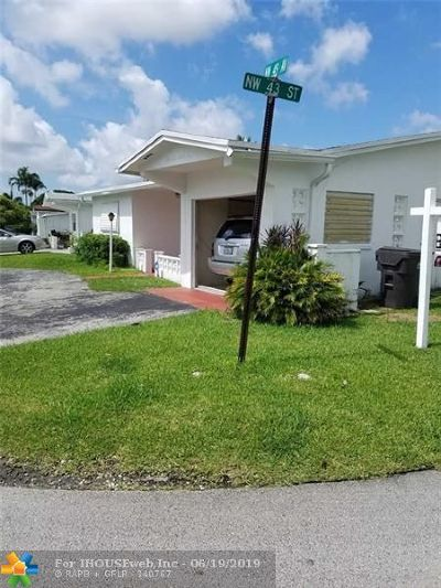 Lauderdale Lakes Single Family Home For Sale: 4291 NW 49 Ave