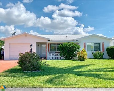 Pompano Beach Single Family Home For Sale: 131 NW 31st Ct