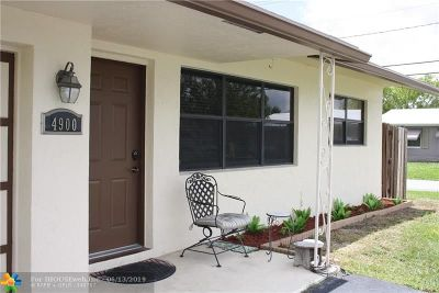 Tamarac Single Family Home For Sale: 4900 NW 27th Ave