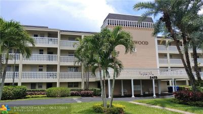 Coral Springs Condo/Townhouse For Sale: 3475 Brokenwoods Dr #407