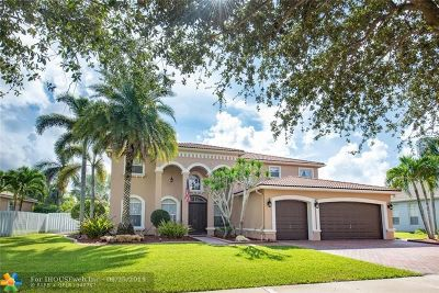 Cooper City Single Family Home For Sale: 4790 Tropicana Ave