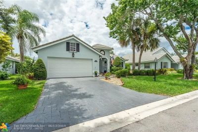 Coral Springs Single Family Home For Sale: 5461 Pine Ct