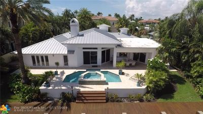 Lighthouse Point Single Family Home For Sale: 2315 NE 25th St