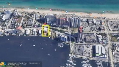 Fort Lauderdale Condo/Townhouse For Sale: 95 N Birch Rd #405