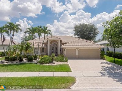 Coral Springs Single Family Home For Sale: 5135 Kensington Cir