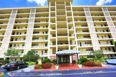 Pompano Beach Condo/Townhouse For Sale: 3250 N Palm Aire Dr #510