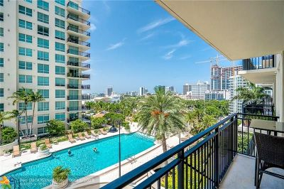 Fort Lauderdale Condo/Townhouse For Sale: 600 W Las Olas Blvd #1004S
