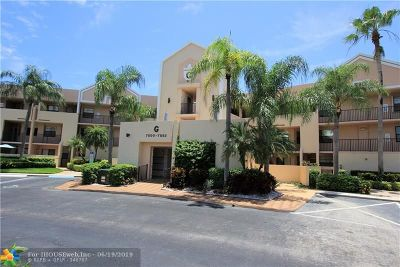 Tamarac Condo/Townhouse For Sale: 7550 Fairfax Dr #212