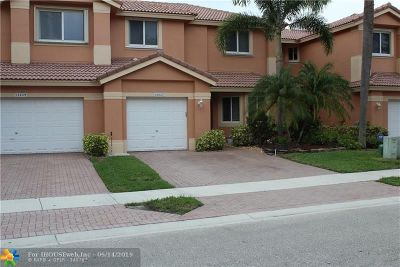 Coral Springs Condo/Townhouse For Sale: 12627 NW 56th Dr