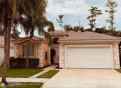 Coconut Creek Single Family Home For Sale: 5508 Lake Tern Ct
