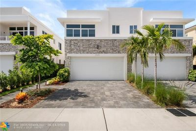 Fort Lauderdale Condo/Townhouse For Sale: 2505 NE 18th St #2505