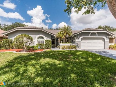 Coral Springs Single Family Home Backup Contract-Call LA: 1981 Oakmont Ter