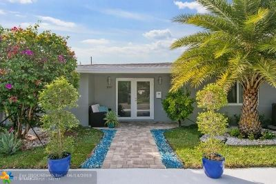 Fort Lauderdale FL Single Family Home For Sale: $668,000