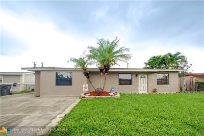 Hollywood Single Family Home For Sale: 7881 Hope St